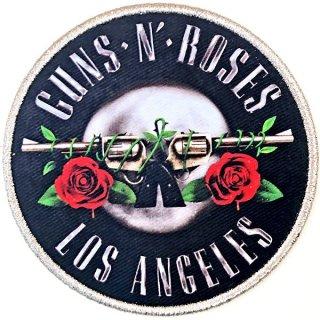 GUNS N' ROSES Los Angeles Silver, パッチ