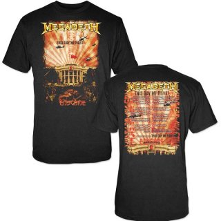MEGADETH China Whitehouse, Tシャツ