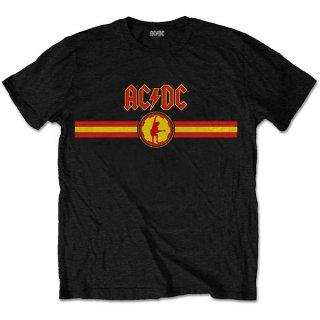 AC/DC Logo & Stripe, Tシャツ