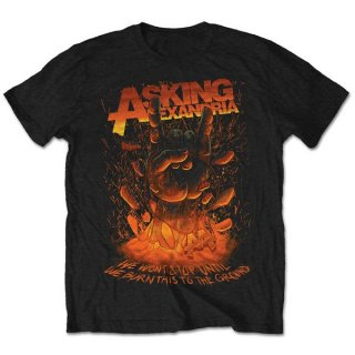 ASKING ALEXANDRIA Metal Hand 2, Tシャツ