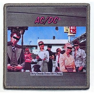 AC/DC Dirty Deeds Done Dirt Cheap Album Cover, パッチ