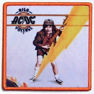 AC/DC High Voltage Album Cover, パッチ