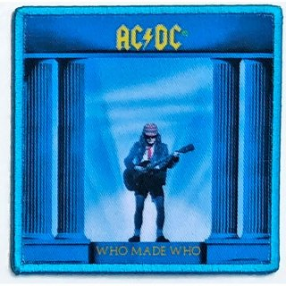 AC/DC Who Made Who Album Cover, パッチ
