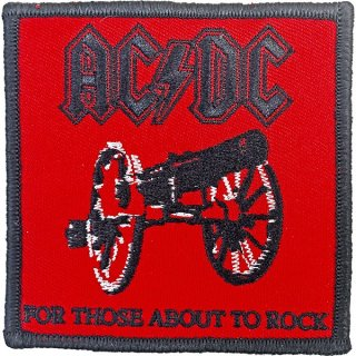 AC/DC For Those About To Rock Red, パッチ