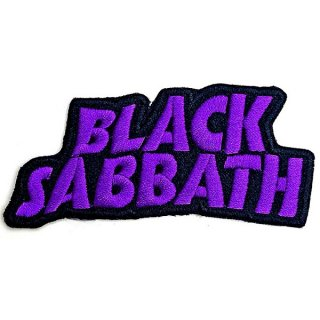 BLACK SABBATH Cut-Out Wavy Logo, パッチ