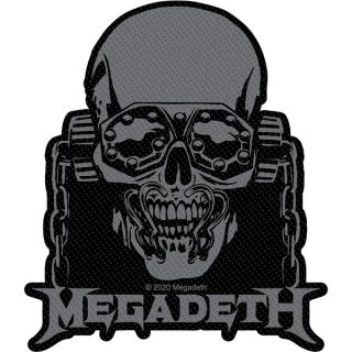 MEGADETH Vic Rattlehead Cut Out, パッチ