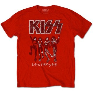 KISS Destroyer Sketch, Tシャツ
