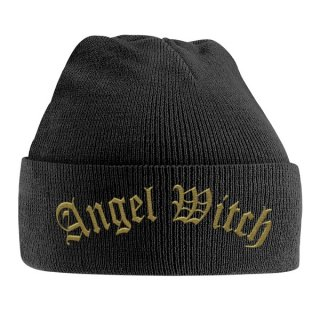 ANGEL WITCH Gold Logo, ニットキャップ