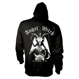 ANGEL WITCH Baphomet, Zip-Upパーカー