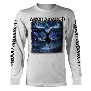 AMON AMARTH Raven's Flight Wht, ロングTシャツ