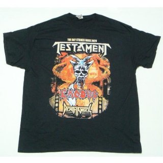 TESTAMENT The Bay Strikes Back Europe 2020 Tour, Tシャツ