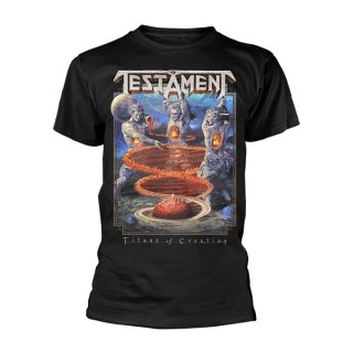 TESTAMENT Titans Of Creation, Tシャツ