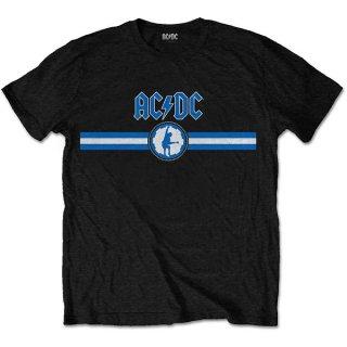 AC/DC Blue Logo & Stripe, Tシャツ