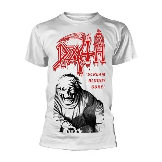 DEATH Scream Bloody Gore Vintage White, Tシャツ