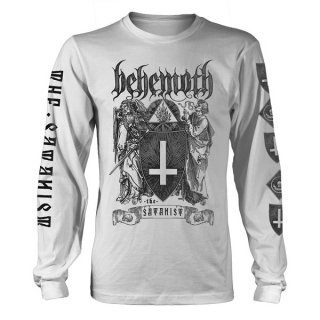 BEHEMOTH The Satanist Wht, ロングTシャツ