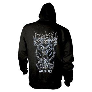 MOONSPELL Wolfheart, Zip-Upパーカー