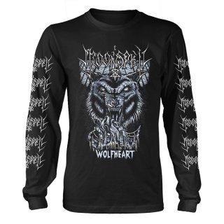 MOONSPELL Wolfheart Blk, ロングTシャツ