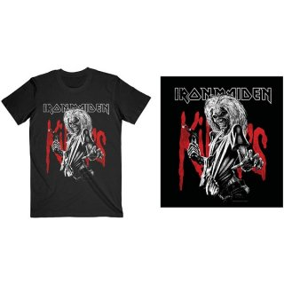 IRON MAIDEN killers Eddie Large Graphic Distress, Tシャツ