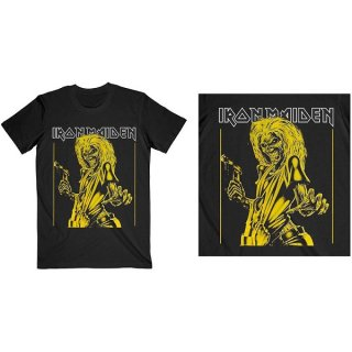 IRON MAIDEN Yellow Flyer, Tシャツ