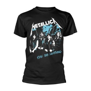 METALLICA Vintage Ride The Lightning, Tシャツ