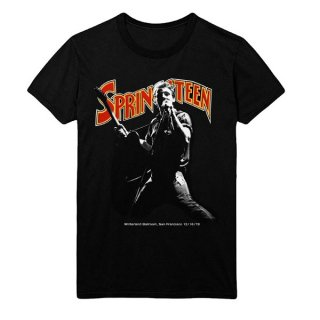 BRUCE SPRINGSTEEN Winterland Ballroom Singing, Tシャツ
