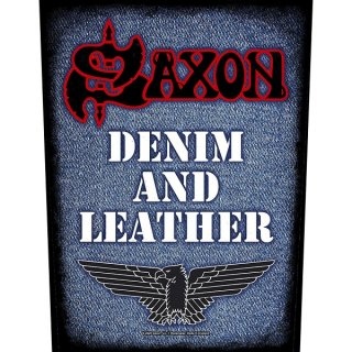 SAXON Denim & Leather, バックパッチ