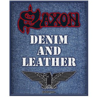 SAXON Denim & Leather, パッチ