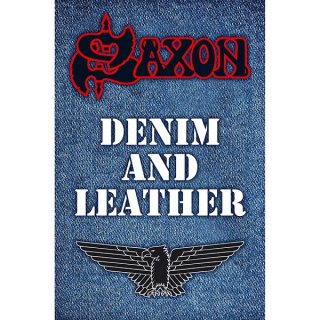 SAXON Denim & Leather, 布製ポスター