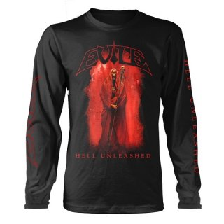 EVILE Hell Unleashed Blk, ロングTシャツ