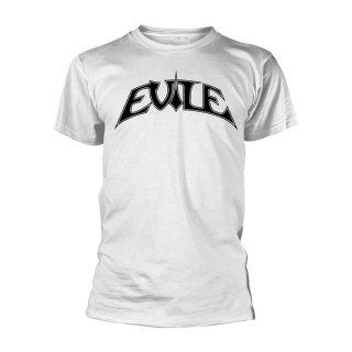 EVILE Logo Wht, Tシャツ