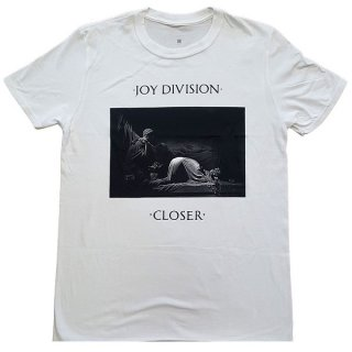 JOY DIVISION Classic Closer Wht, Tシャツ