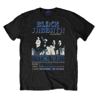 BLACK SABBATH Deutsches '73, Tシャツ