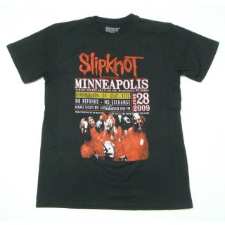 SLIPKNOT Minneapolis '09, Tシャツ