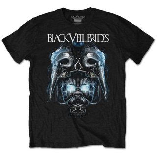 BLACK VEIL BRIDES Metal Mask, Tシャツ