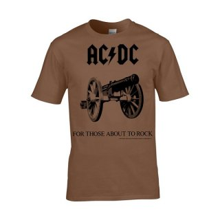 AC/DC For Those About To Rock Brown, Tシャツ