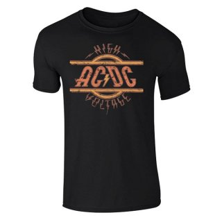 AC/DC High Voltage Black Pl, Tシャツ