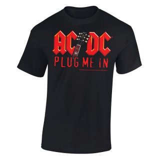 AC/DC Plug Me In With Angus Young, Tシャツ