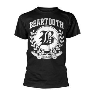 BEARTOOTH Disgusting Black, Tシャツ