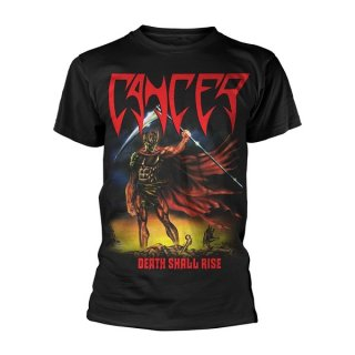 CANCER Death Shall Rise Blk, Tシャツ