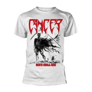 CANCER Death Shall Rise Wht, Tシャツ