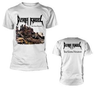 DEATH ANGEL The Ultra-Violence White BP, Tシャツ