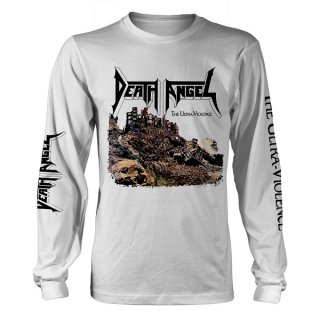 DEATH ANGEL The Ultra-Violence Wht, ロングTシャツ