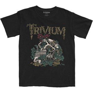 TRIVIUM Skelly Flower, Tシャツ