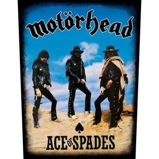 MOTORHEAD Ace Of Spades, バックパッチ