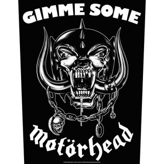 MOTORHEAD Gimme Some, バックパッチ