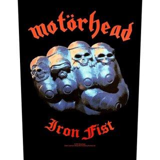 MOTORHEAD Iron Fist, バックパッチ