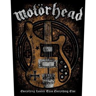 MOTORHEAD Lemmy's Bass, バックパッチ