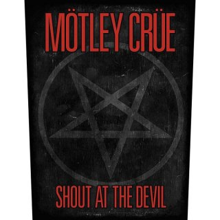 MOTLEY CRUE Shout AT The Devil, バックパッチ
