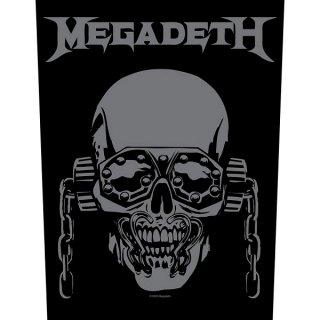 MEGADETH Vic Rattlehead, バックパッチ