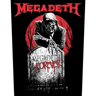 MEGADETH Tombstone, バックパッチ